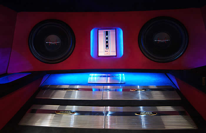 Genesis Car Audio Upgrade