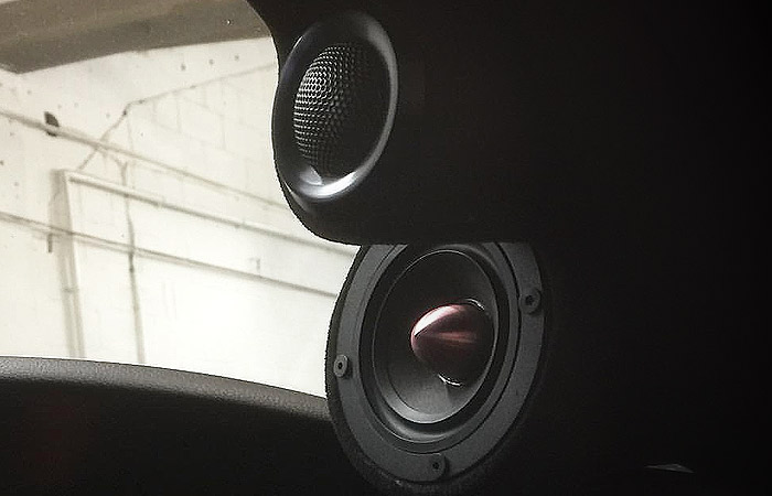 Integrated Car Speakers