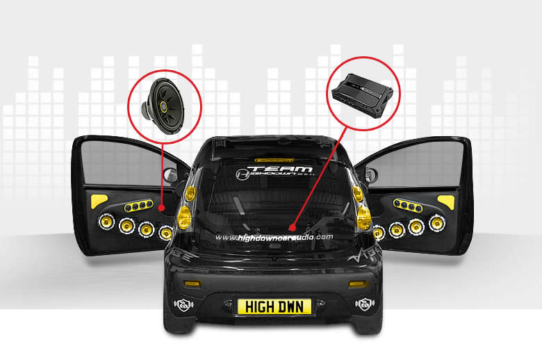 Specialists in Car Audio Upgrades Worthing Brighton Shoreham West Sussex